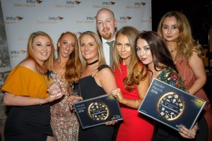 intu Eldon Square Retailer Awards 2016 at The Boiler Shop Steamer in Newcastle. Newcomer of the Year award winner - boutique.Goldsmiths. (14/10/2016) Credit: Tony Hall Copyright: Tony Hall 2016 All rights reserved For further information contact Tony Hall Tel: +44 (0) 7772 655 839 E-mail: info@tonyhallphoto.com