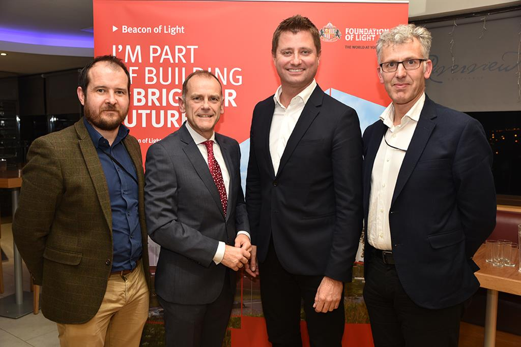 Architect George Clarke lights up Beacon event