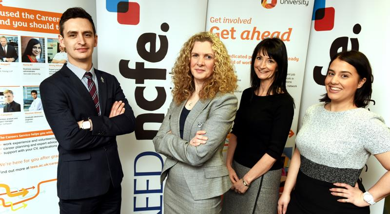 New partnership to help graduates access top level careers
